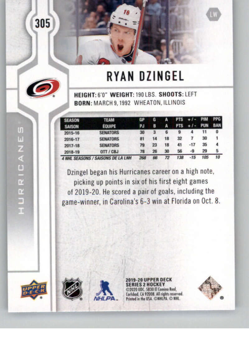 2019-20-Upper-Deck-Series-Two-NHL-Hockey-Cards-Base-or-Young-Guns-Pick-From-List miniature 93