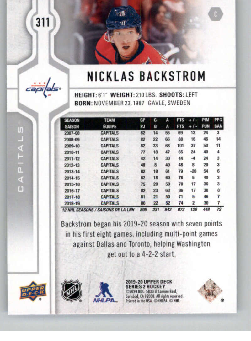 2019-20-Upper-Deck-Series-Two-NHL-Hockey-Cards-Base-or-Young-Guns-Pick-From-List miniature 103