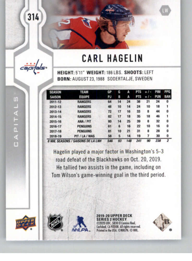 2019-20-Upper-Deck-Series-Two-NHL-Hockey-Cards-Base-or-Young-Guns-Pick-From-List miniature 109