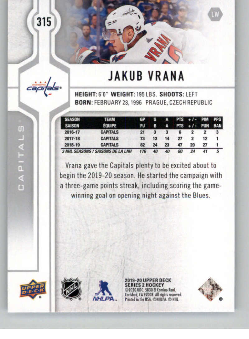 2019-20-Upper-Deck-Series-Two-NHL-Hockey-Cards-Base-or-Young-Guns-Pick-From-List miniature 111