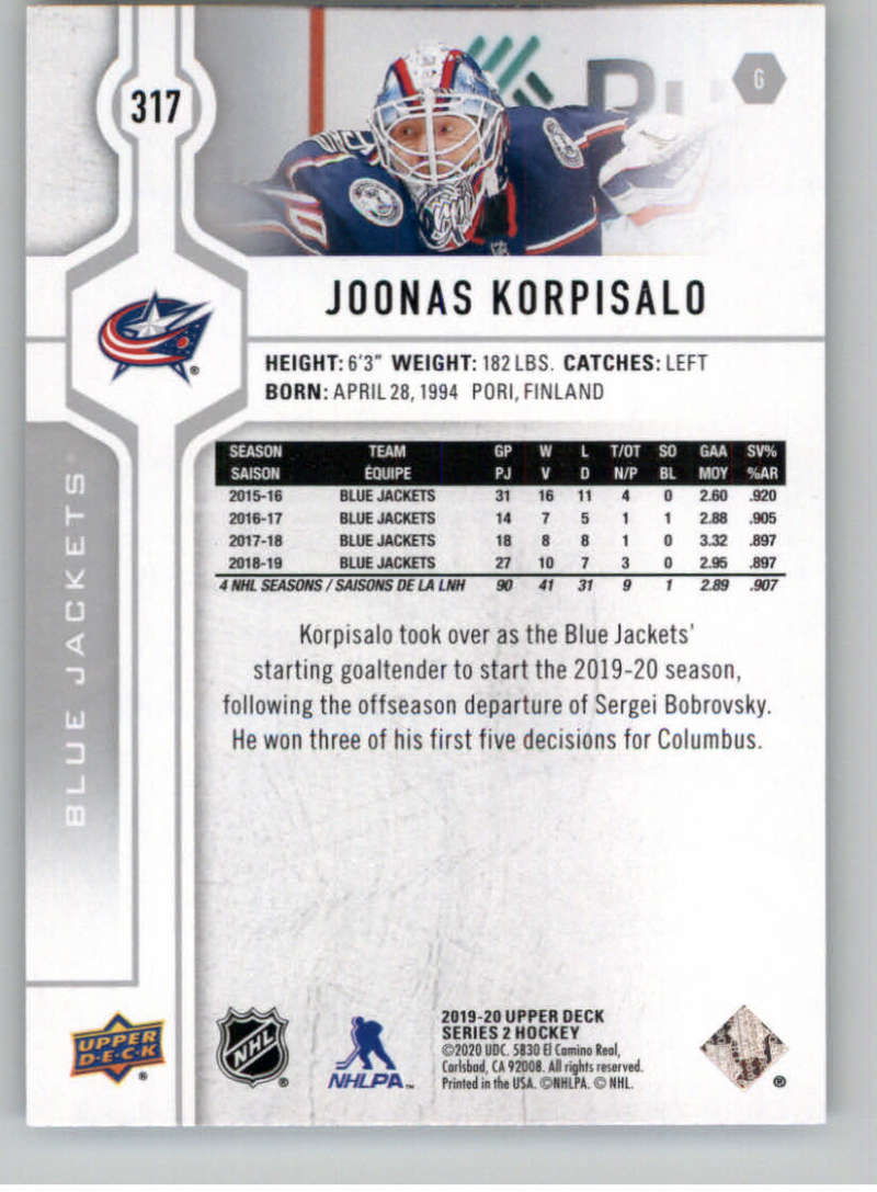 2019-20-Upper-Deck-Series-Two-NHL-Hockey-Cards-Base-or-Young-Guns-Pick-From-List miniature 113