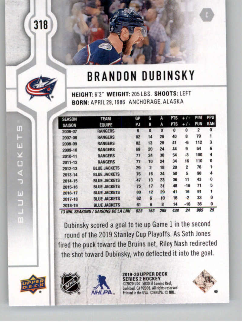 2019-20-Upper-Deck-Series-Two-NHL-Hockey-Cards-Base-or-Young-Guns-Pick-From-List miniature 115