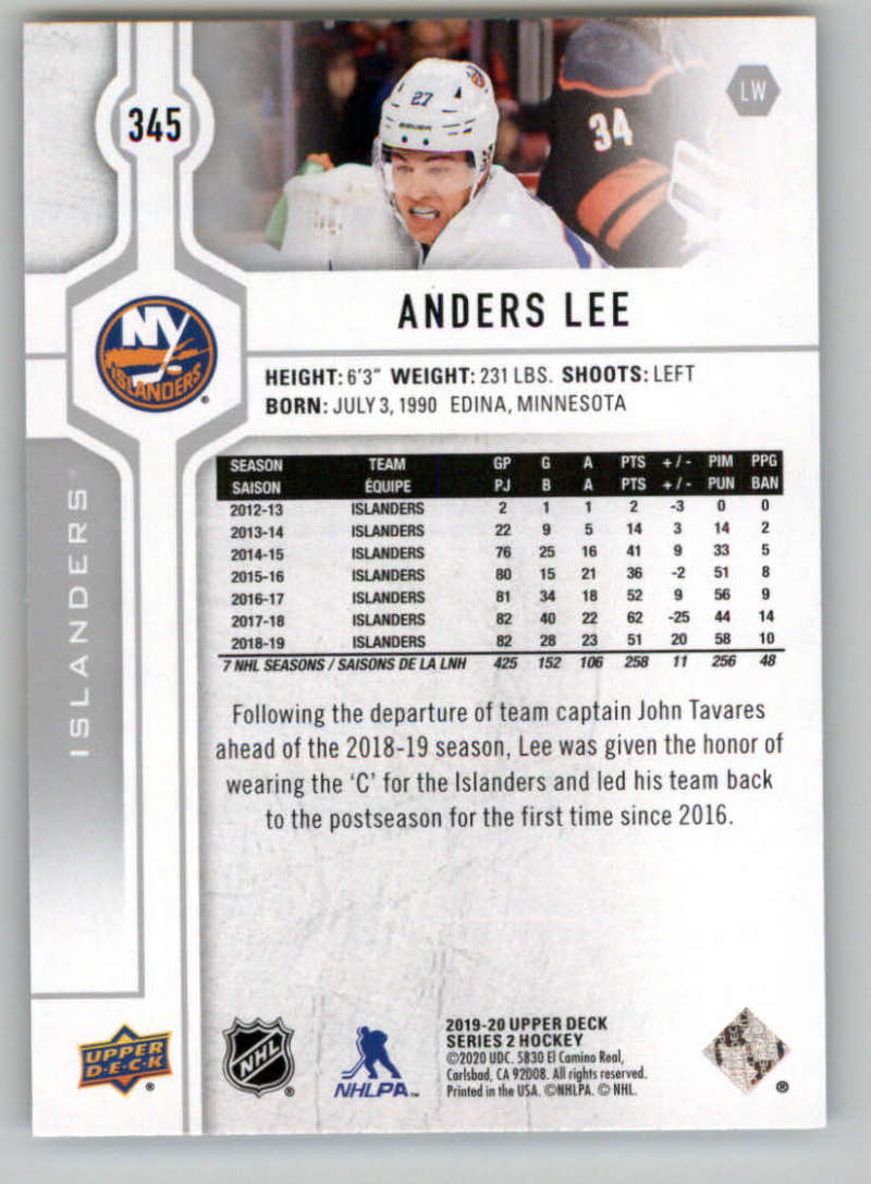 2019-20-Upper-Deck-Series-Two-NHL-Hockey-Cards-Base-or-Young-Guns-Pick-From-List miniature 161