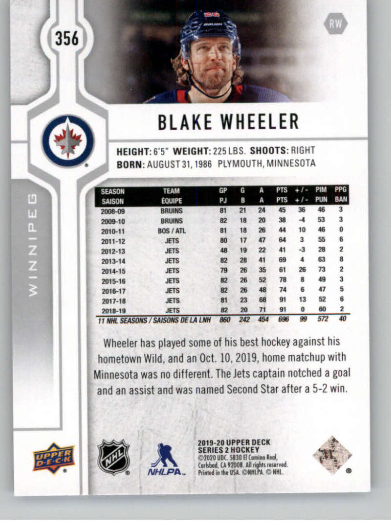 2019-20-Upper-Deck-Series-Two-NHL-Hockey-Cards-Base-or-Young-Guns-Pick-From-List miniature 181