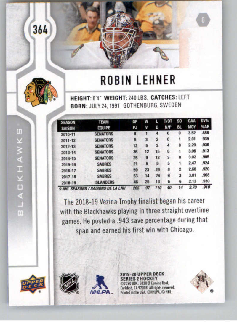 2019-20-Upper-Deck-Series-Two-NHL-Hockey-Cards-Base-or-Young-Guns-Pick-From-List miniature 195