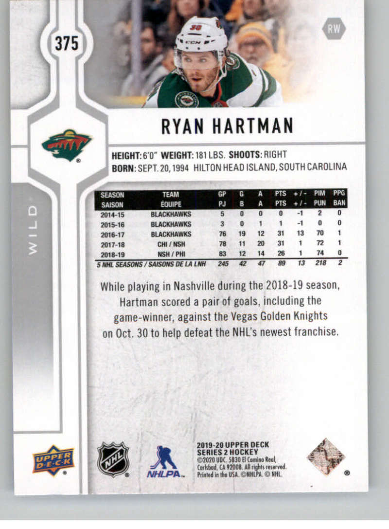 2019-20-Upper-Deck-Series-Two-NHL-Hockey-Cards-Base-or-Young-Guns-Pick-From-List miniature 211