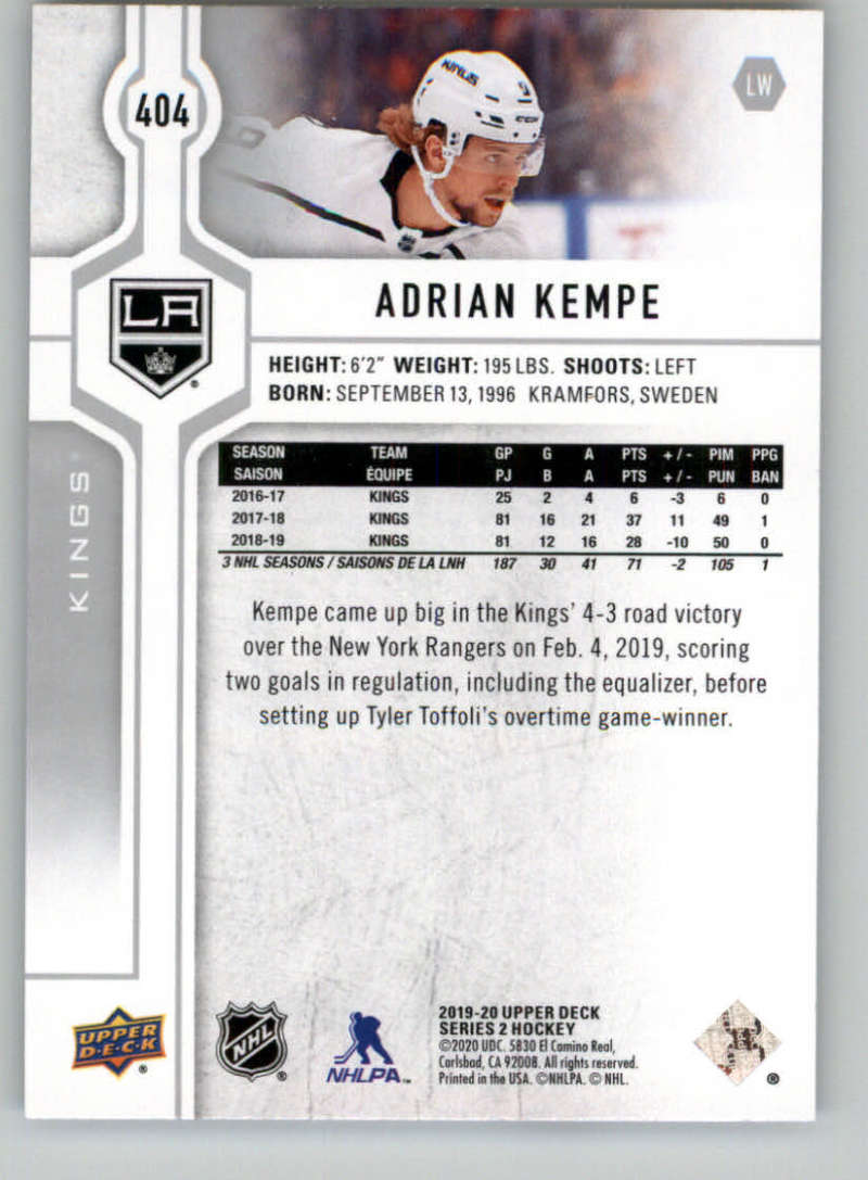 2019-20-Upper-Deck-Series-Two-NHL-Hockey-Cards-Base-or-Young-Guns-Pick-From-List miniature 247