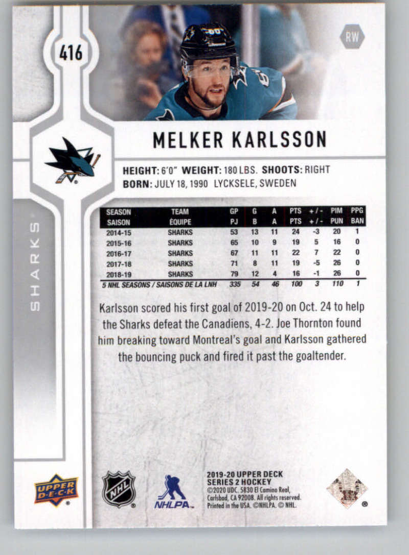 2019-20-Upper-Deck-Series-Two-NHL-Hockey-Cards-Base-or-Young-Guns-Pick-From-List miniature 267