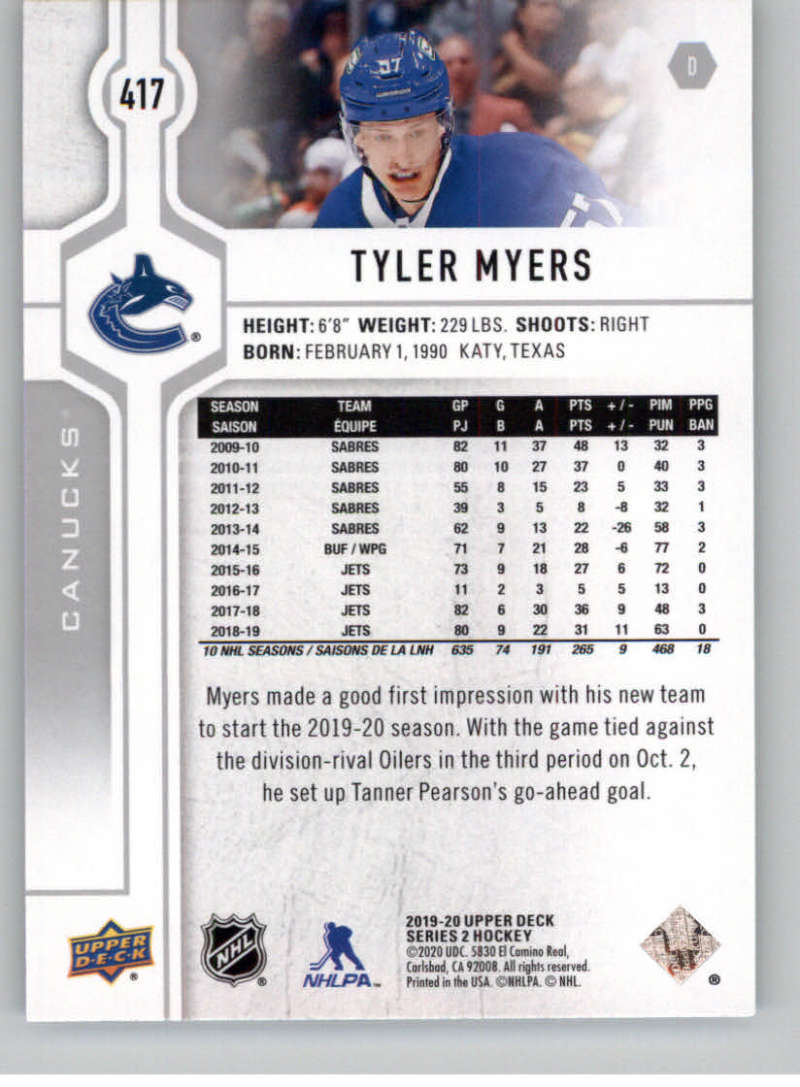 2019-20-Upper-Deck-Series-Two-NHL-Hockey-Cards-Base-or-Young-Guns-Pick-From-List miniature 269