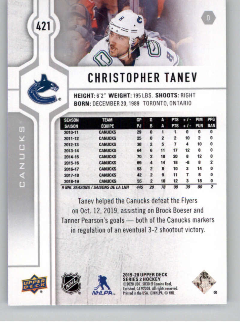 2019-20-Upper-Deck-Series-Two-NHL-Hockey-Cards-Base-or-Young-Guns-Pick-From-List miniature 275