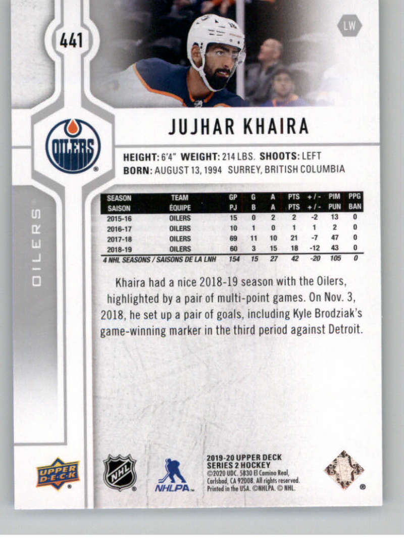 2019-20-Upper-Deck-Series-Two-NHL-Hockey-Cards-Base-or-Young-Guns-Pick-From-List miniature 307