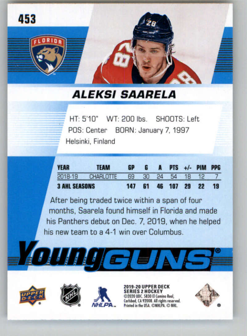 2019-20-Upper-Deck-Series-Two-NHL-Hockey-Cards-Base-or-Young-Guns-Pick-From-List miniature 329