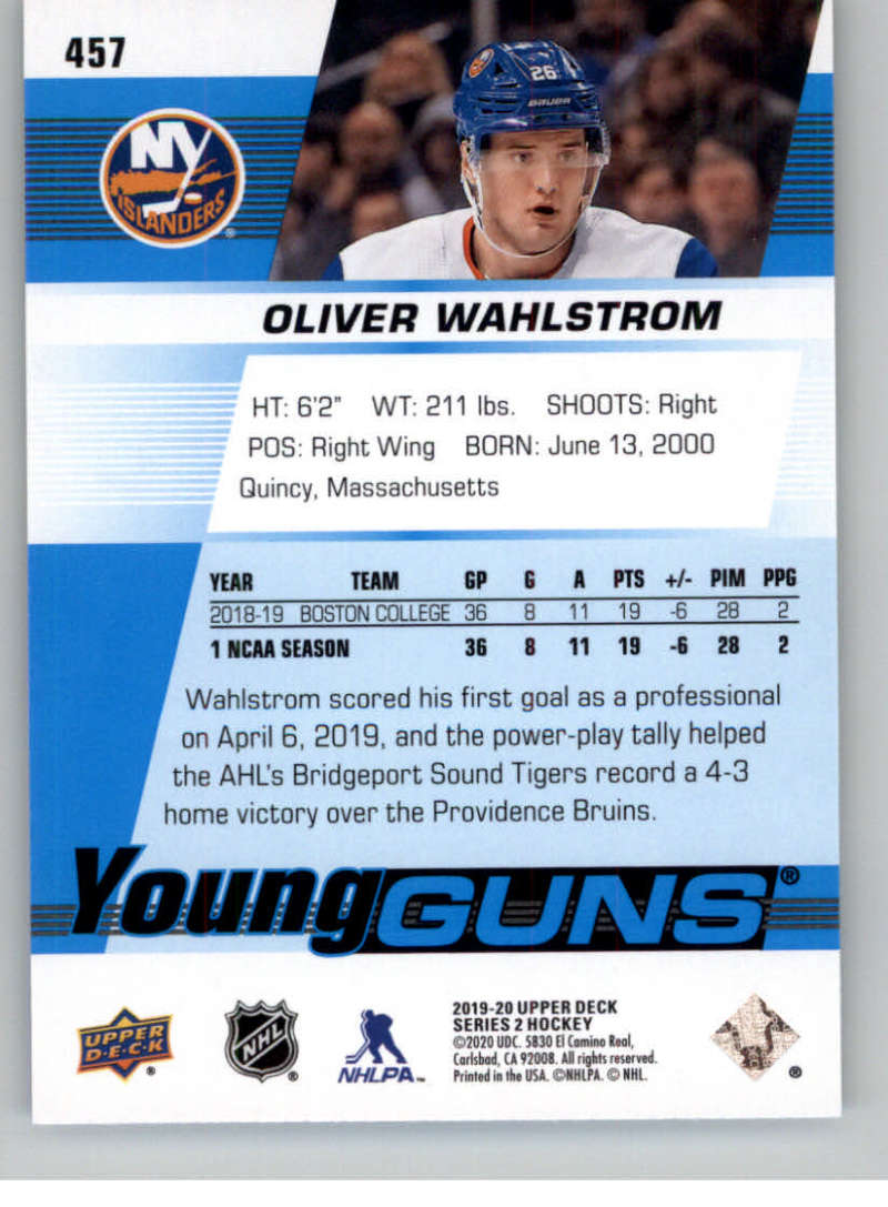 2019-20-Upper-Deck-Series-Two-NHL-Hockey-Cards-Base-or-Young-Guns-Pick-From-List miniature 335
