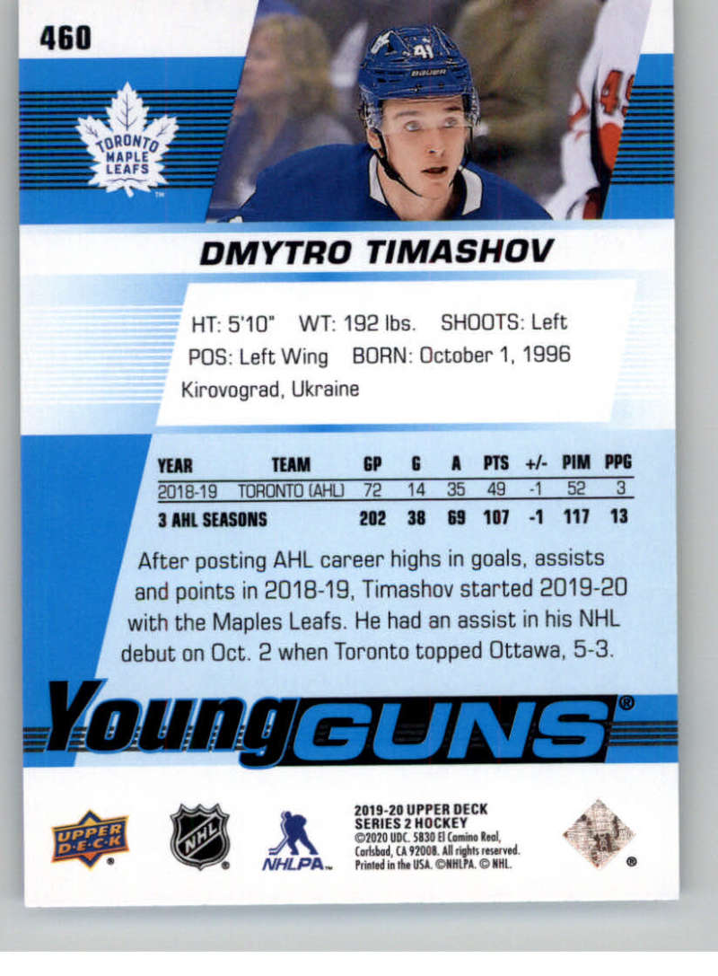 2019-20-Upper-Deck-Series-Two-NHL-Hockey-Cards-Base-or-Young-Guns-Pick-From-List miniature 337