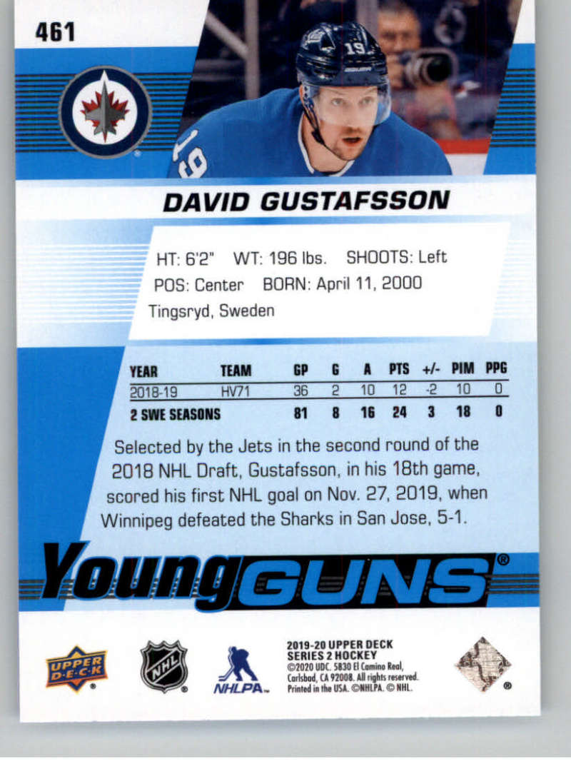 2019-20-Upper-Deck-Series-Two-NHL-Hockey-Cards-Base-or-Young-Guns-Pick-From-List miniature 339