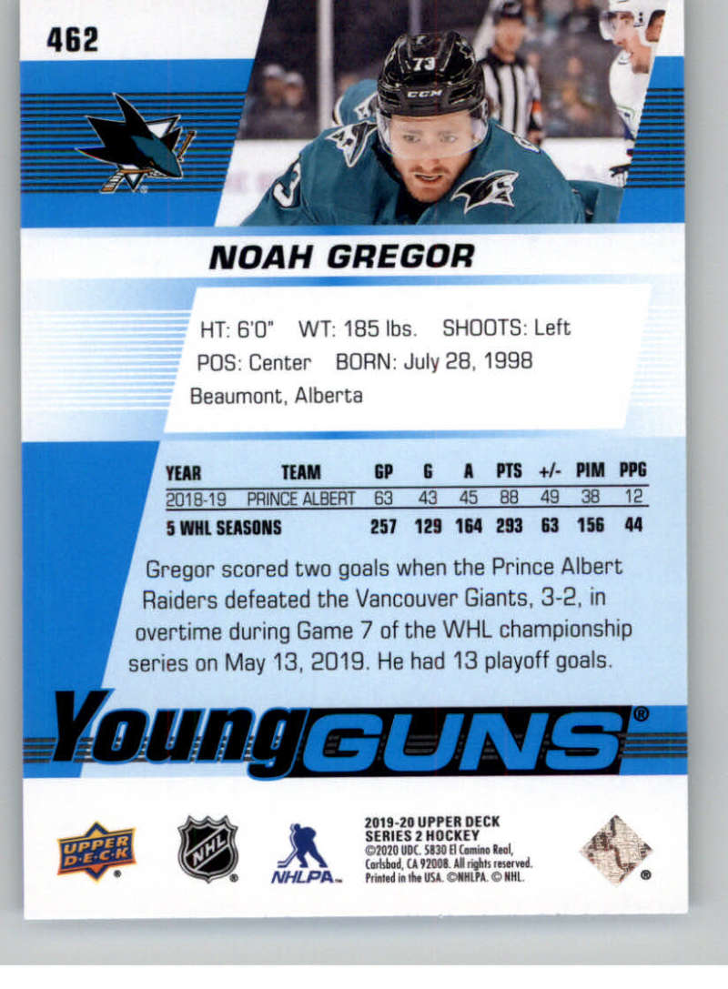 2019-20-Upper-Deck-Series-Two-NHL-Hockey-Cards-Base-or-Young-Guns-Pick-From-List miniature 341