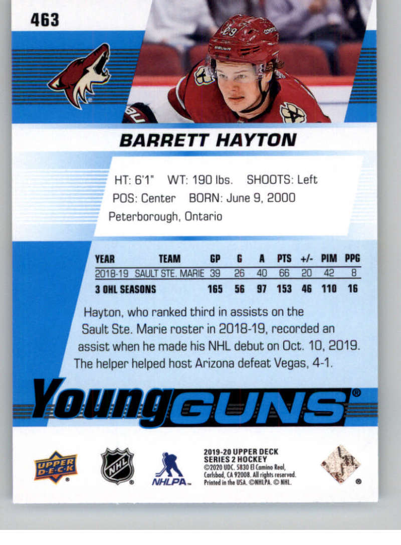2019-20-Upper-Deck-Series-Two-NHL-Hockey-Cards-Base-or-Young-Guns-Pick-From-List miniature 343