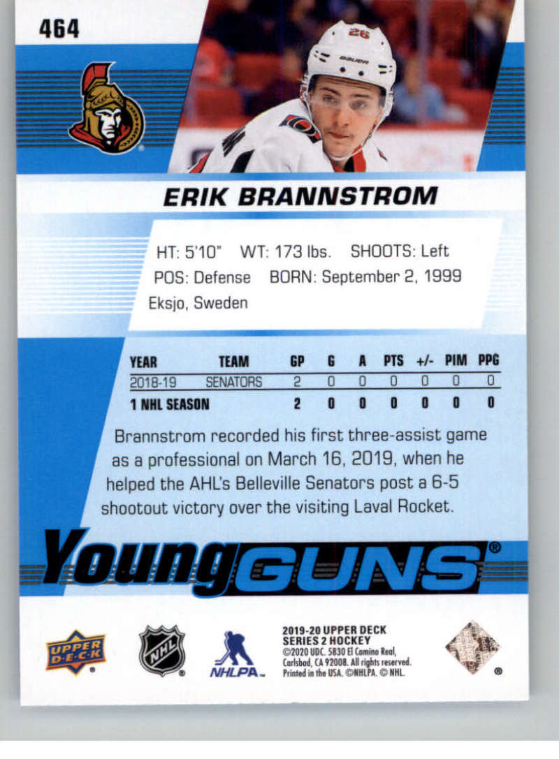 2019-20-Upper-Deck-Series-Two-NHL-Hockey-Cards-Base-or-Young-Guns-Pick-From-List miniature 345