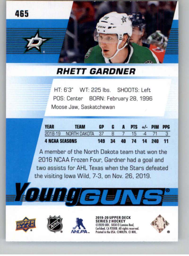 2019-20-Upper-Deck-Series-Two-NHL-Hockey-Cards-Base-or-Young-Guns-Pick-From-List miniature 347