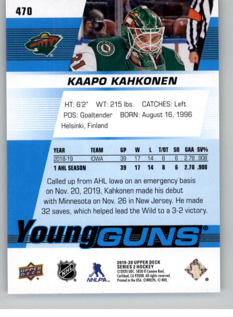 2019-20-Upper-Deck-Series-Two-NHL-Hockey-Cards-Base-or-Young-Guns-Pick-From-List miniature 357