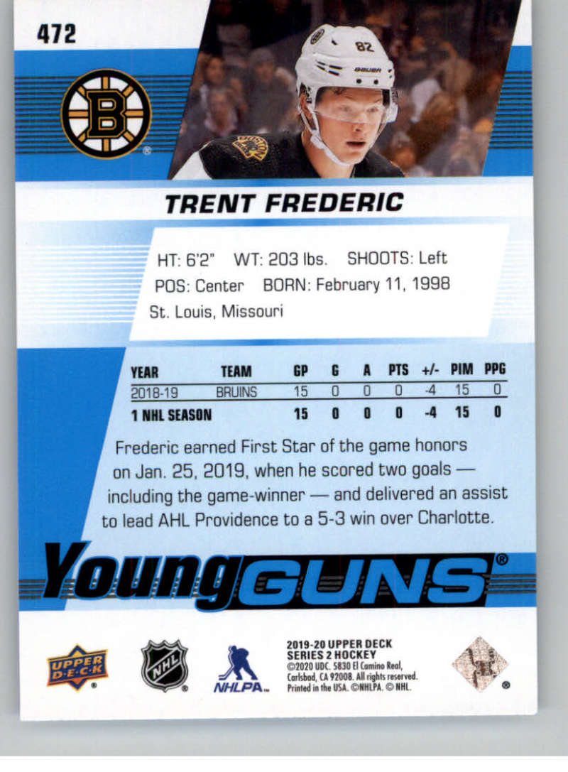 2019-20-Upper-Deck-Series-Two-NHL-Hockey-Cards-Base-or-Young-Guns-Pick-From-List miniature 361