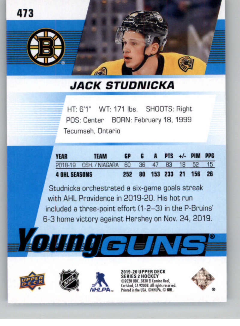 2019-20-Upper-Deck-Series-Two-NHL-Hockey-Cards-Base-or-Young-Guns-Pick-From-List miniature 363