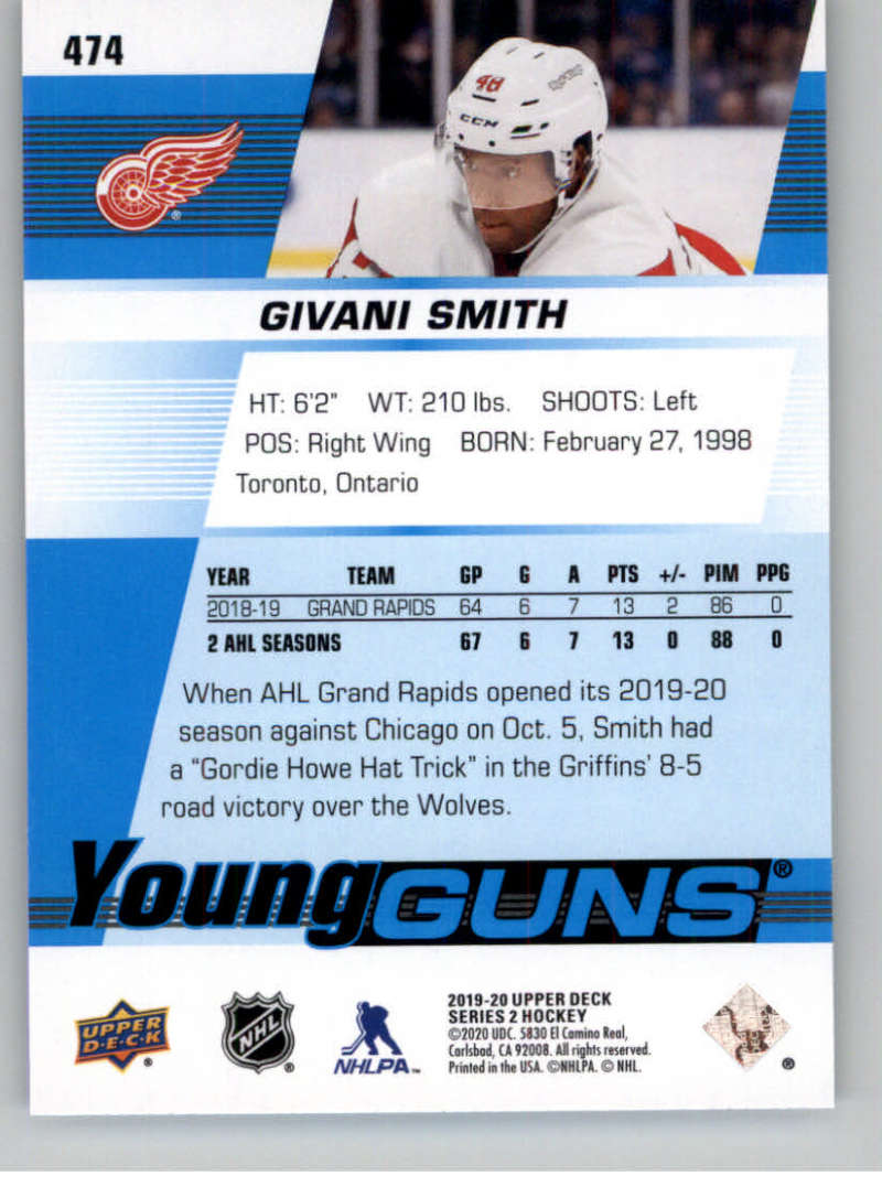 2019-20-Upper-Deck-Series-Two-NHL-Hockey-Cards-Base-or-Young-Guns-Pick-From-List miniature 365