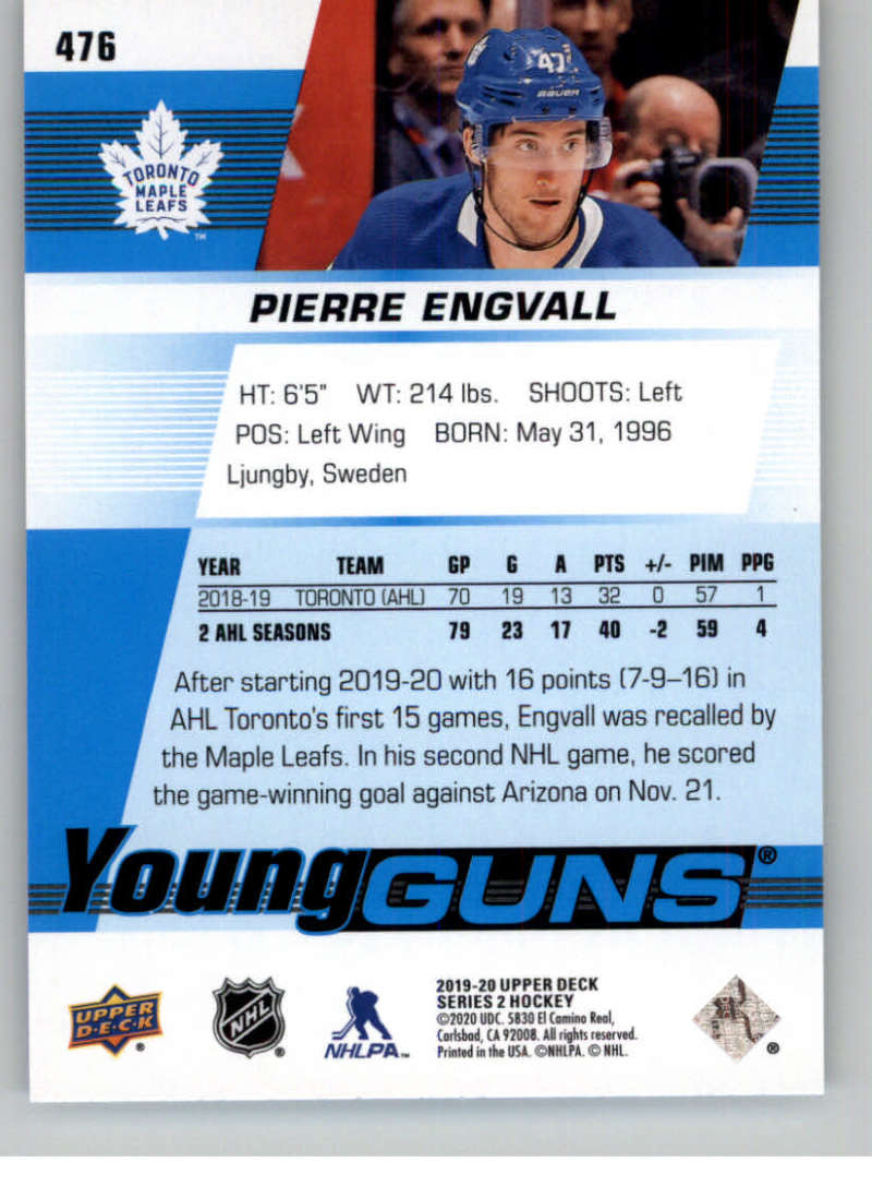 2019-20-Upper-Deck-Series-Two-NHL-Hockey-Cards-Base-or-Young-Guns-Pick-From-List miniature 369