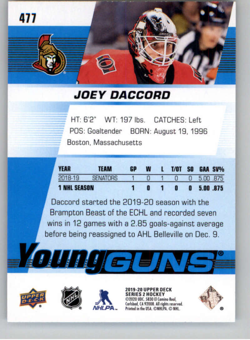2019-20-Upper-Deck-Series-Two-NHL-Hockey-Cards-Base-or-Young-Guns-Pick-From-List miniature 371