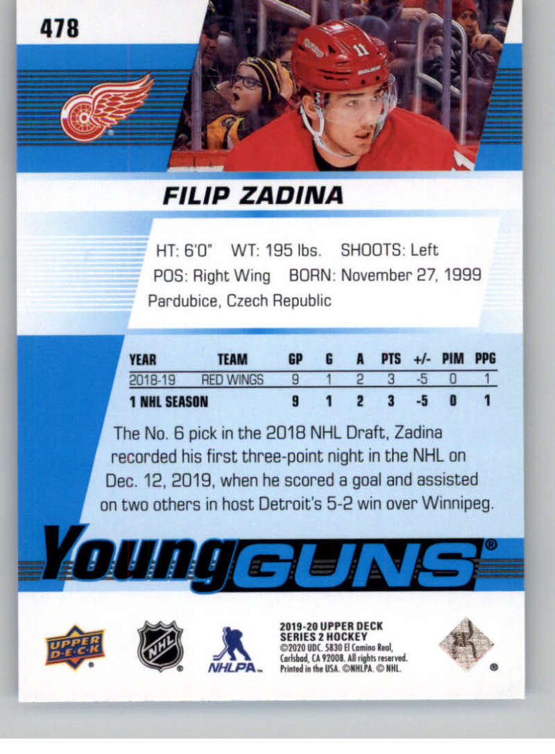 2019-20-Upper-Deck-Series-Two-NHL-Hockey-Cards-Base-or-Young-Guns-Pick-From-List miniature 373