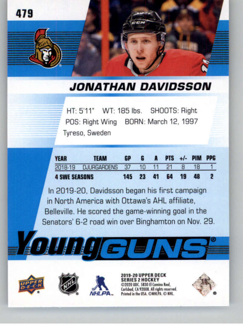 2019-20-Upper-Deck-Series-Two-NHL-Hockey-Cards-Base-or-Young-Guns-Pick-From-List miniature 375