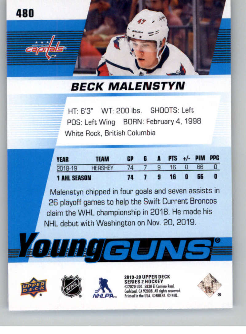 2019-20-Upper-Deck-Series-Two-NHL-Hockey-Cards-Base-or-Young-Guns-Pick-From-List miniature 377