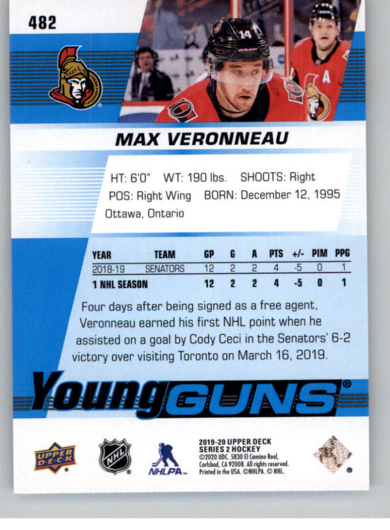 2019-20-Upper-Deck-Series-Two-NHL-Hockey-Cards-Base-or-Young-Guns-Pick-From-List miniature 381