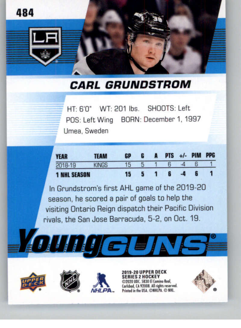 2019-20-Upper-Deck-Series-Two-NHL-Hockey-Cards-Base-or-Young-Guns-Pick-From-List miniature 385