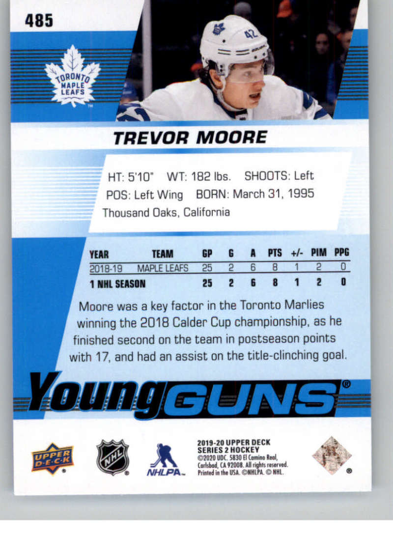 2019-20-Upper-Deck-Series-Two-NHL-Hockey-Cards-Base-or-Young-Guns-Pick-From-List miniature 387