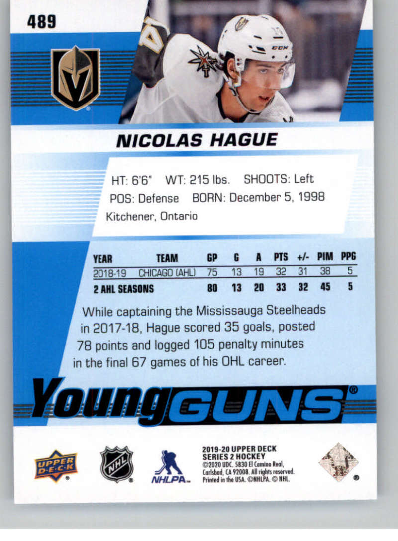2019-20-Upper-Deck-Series-Two-NHL-Hockey-Cards-Base-or-Young-Guns-Pick-From-List miniature 391