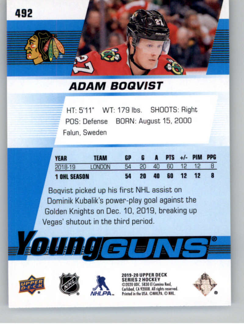 2019-20-Upper-Deck-Series-Two-NHL-Hockey-Cards-Base-or-Young-Guns-Pick-From-List miniature 395
