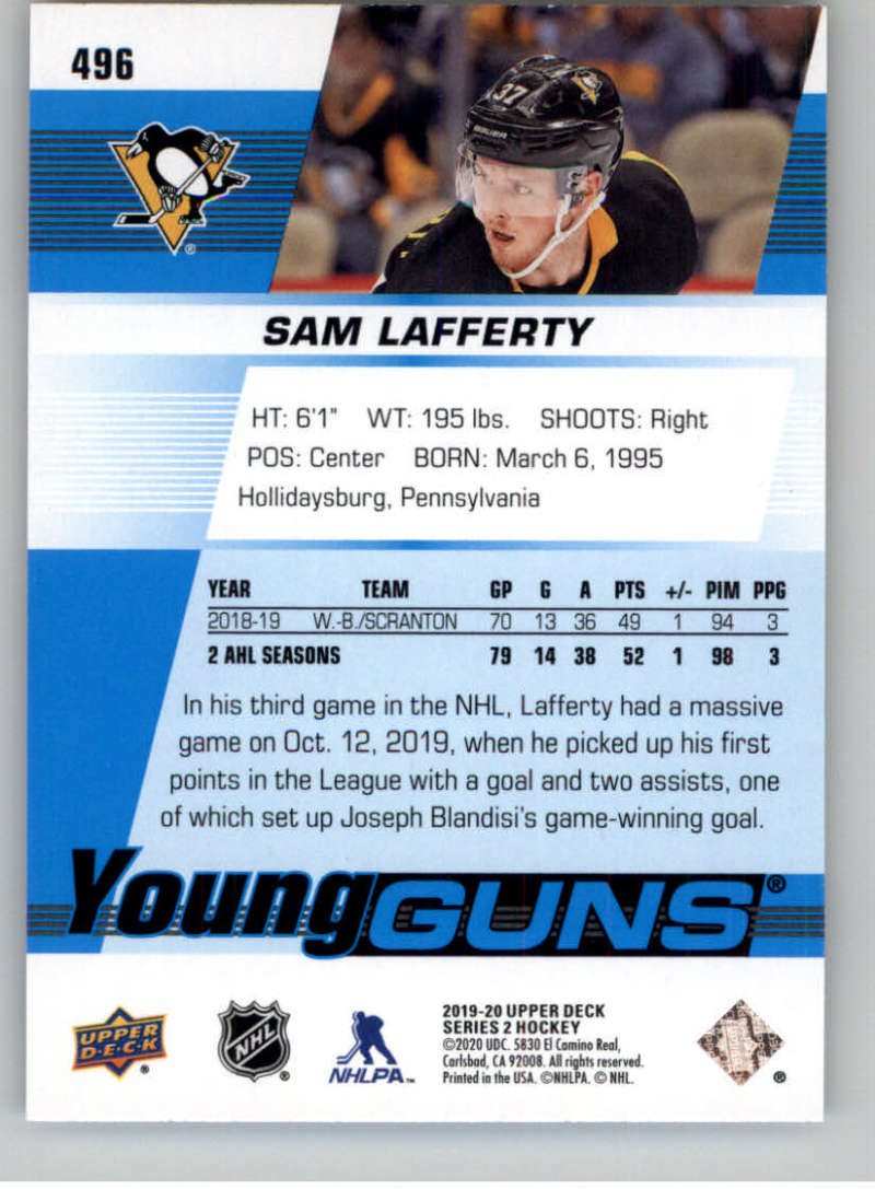 2019-20-Upper-Deck-Series-Two-NHL-Hockey-Cards-Base-or-Young-Guns-Pick-From-List miniature 401
