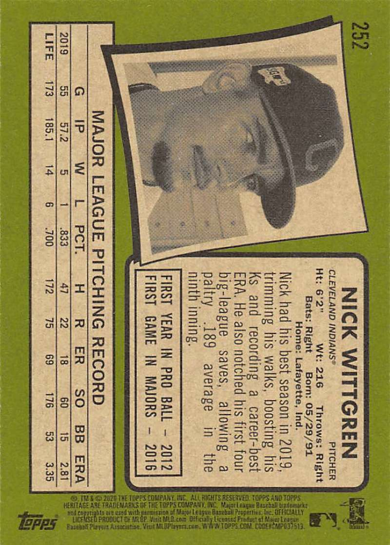 thumbnail 5 - 2020 Topps Heritage MLB Baseball Trading Cards Pick From List 251-500 W/Rookies