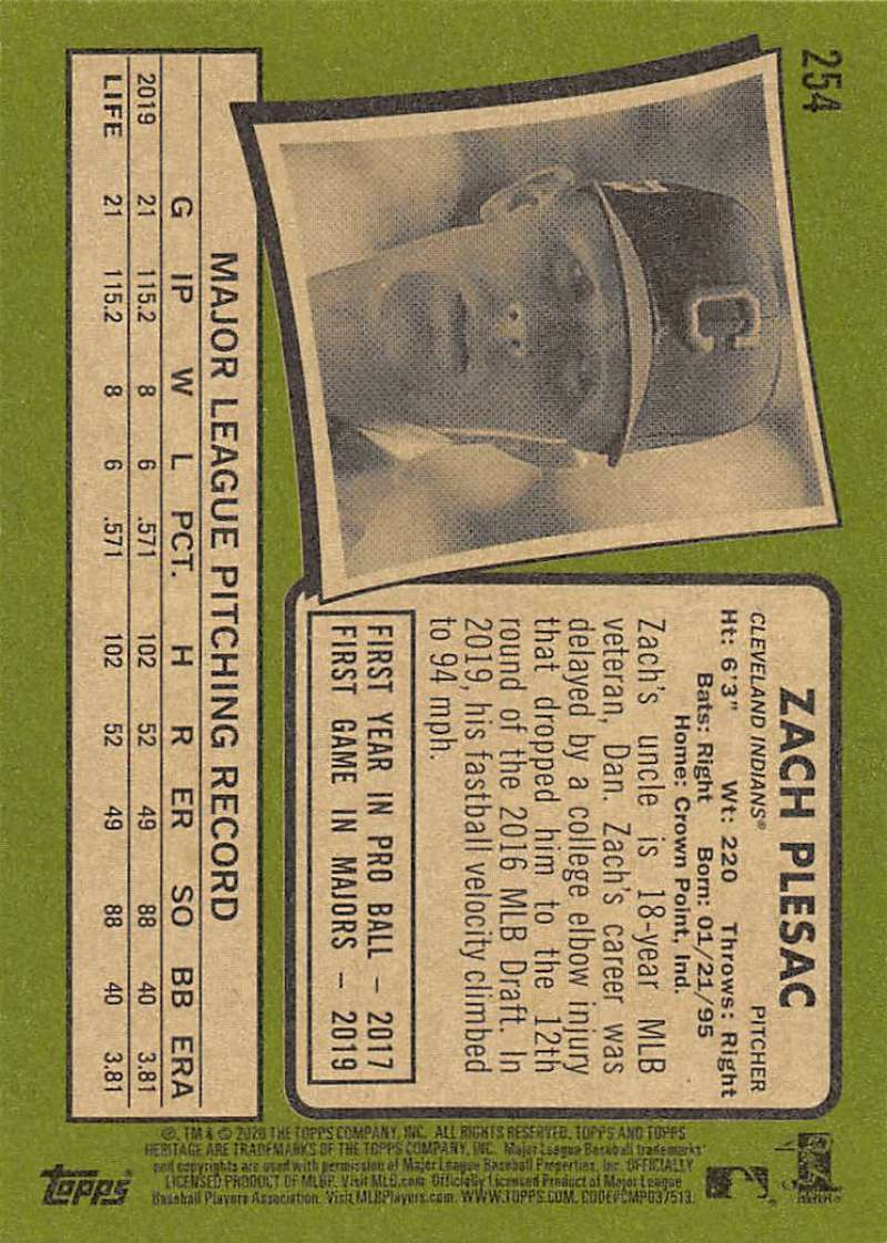 thumbnail 9 - 2020 Topps Heritage MLB Baseball Trading Cards Pick From List 251-500 W/Rookies