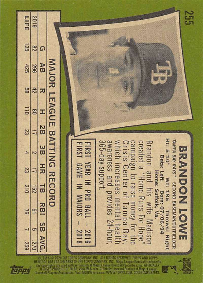 thumbnail 11 - 2020 Topps Heritage MLB Baseball Trading Cards Pick From List 251-500 W/Rookies