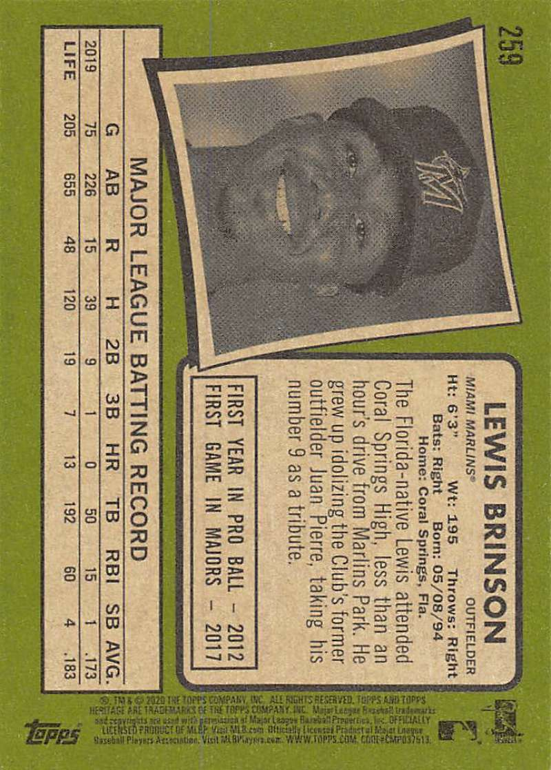 thumbnail 19 - 2020 Topps Heritage MLB Baseball Trading Cards Pick From List 251-500 W/Rookies