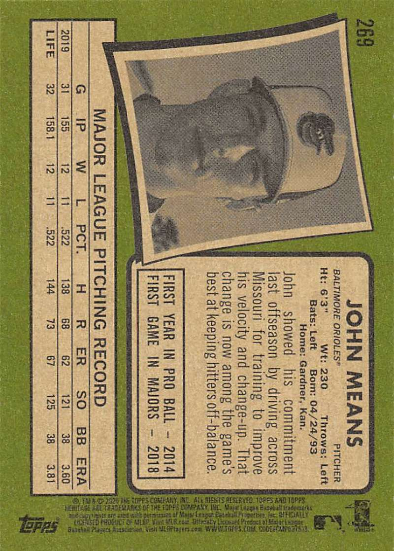 thumbnail 37 - 2020 Topps Heritage MLB Baseball Trading Cards Pick From List 251-500 W/Rookies