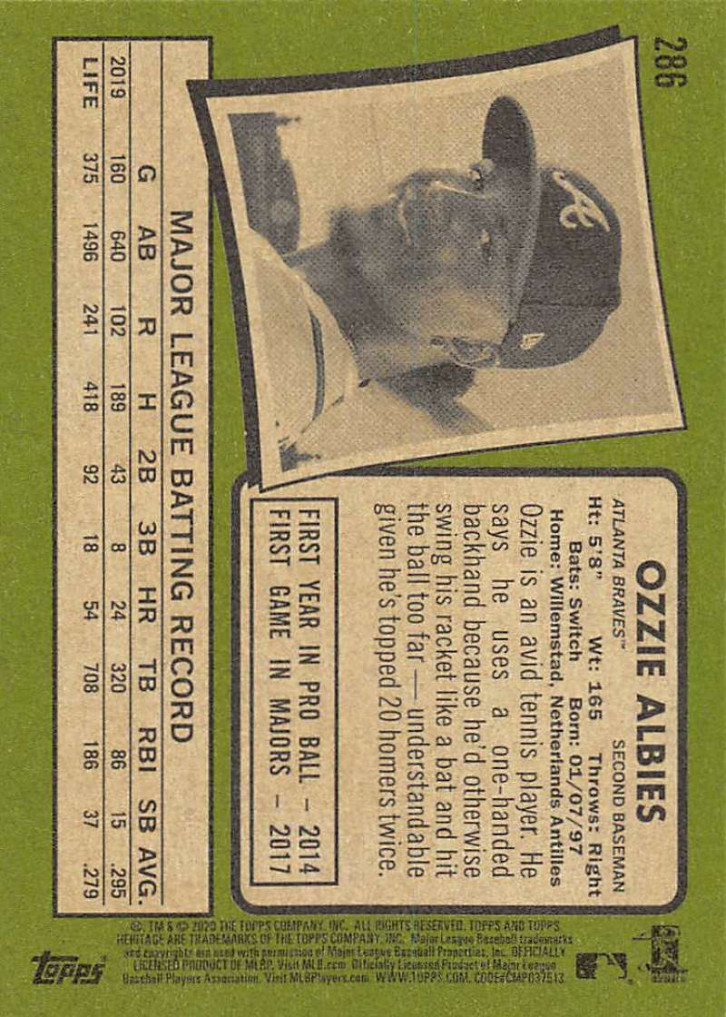 thumbnail 71 - 2020 Topps Heritage MLB Baseball Trading Cards Pick From List 251-500 W/Rookies