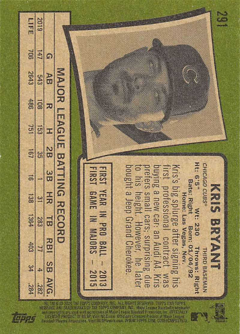 thumbnail 81 - 2020 Topps Heritage MLB Baseball Trading Cards Pick From List 251-500 W/Rookies