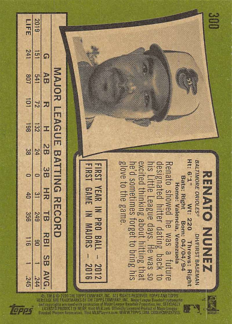 thumbnail 99 - 2020 Topps Heritage MLB Baseball Trading Cards Pick From List 251-500 W/Rookies