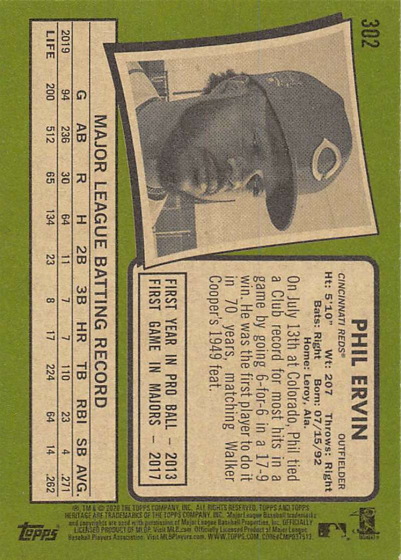 thumbnail 103 - 2020 Topps Heritage MLB Baseball Trading Cards Pick From List 251-500 W/Rookies