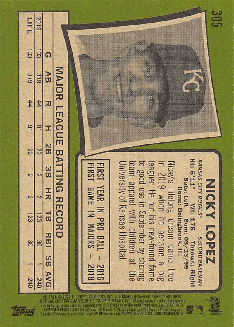 thumbnail 109 - 2020 Topps Heritage MLB Baseball Trading Cards Pick From List 251-500 W/Rookies