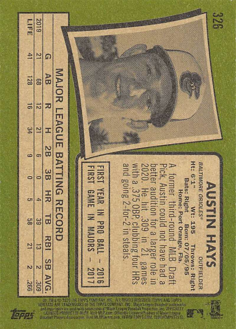 thumbnail 151 - 2020 Topps Heritage MLB Baseball Trading Cards Pick From List 251-500 W/Rookies