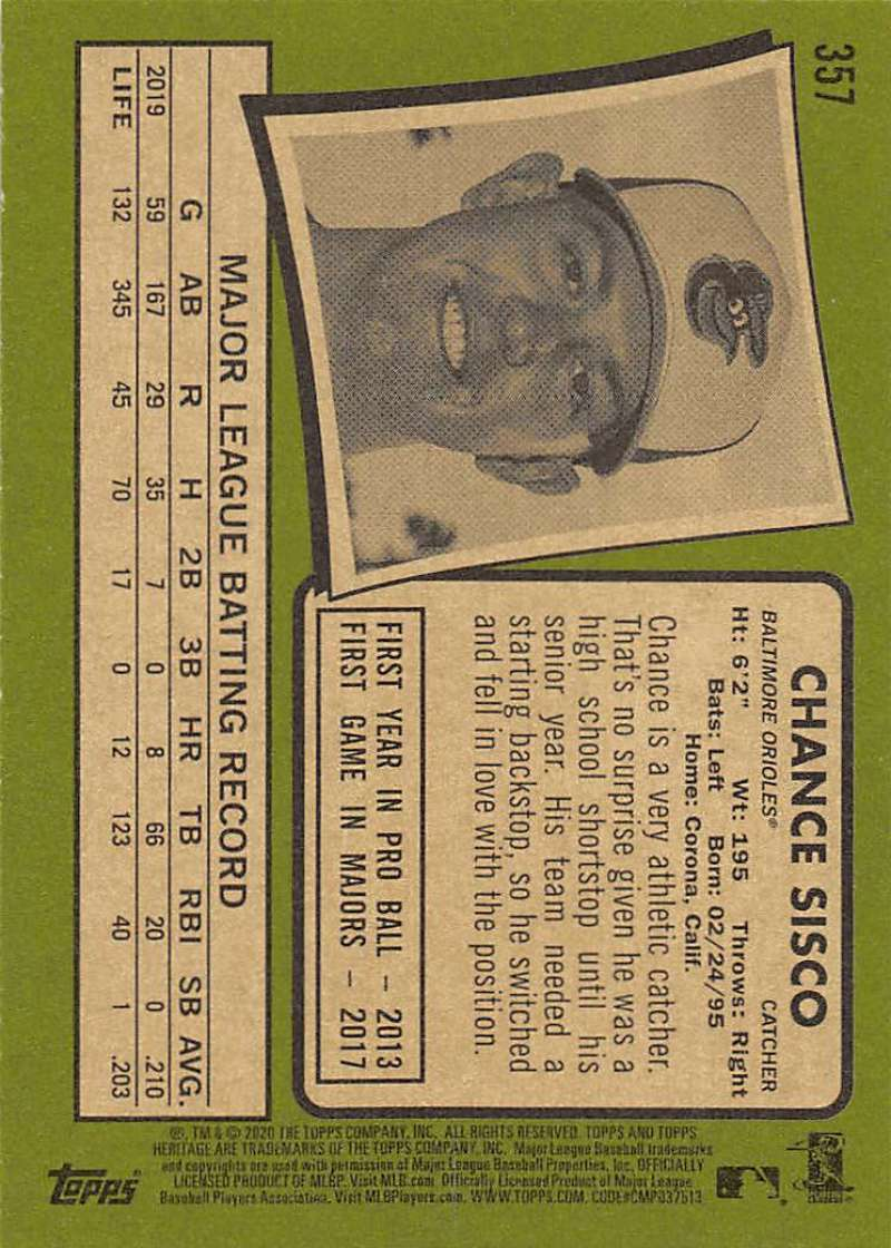 thumbnail 213 - 2020 Topps Heritage MLB Baseball Trading Cards Pick From List 251-500 W/Rookies